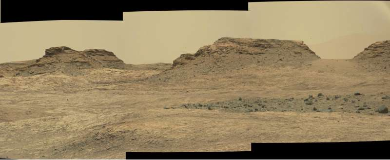 Curiosity sol 1387 - dettaglio