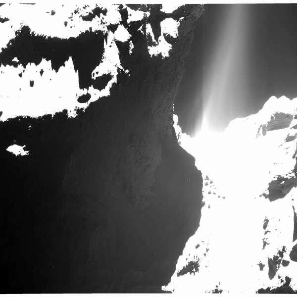 67P: OSIRIS 10 ottobre