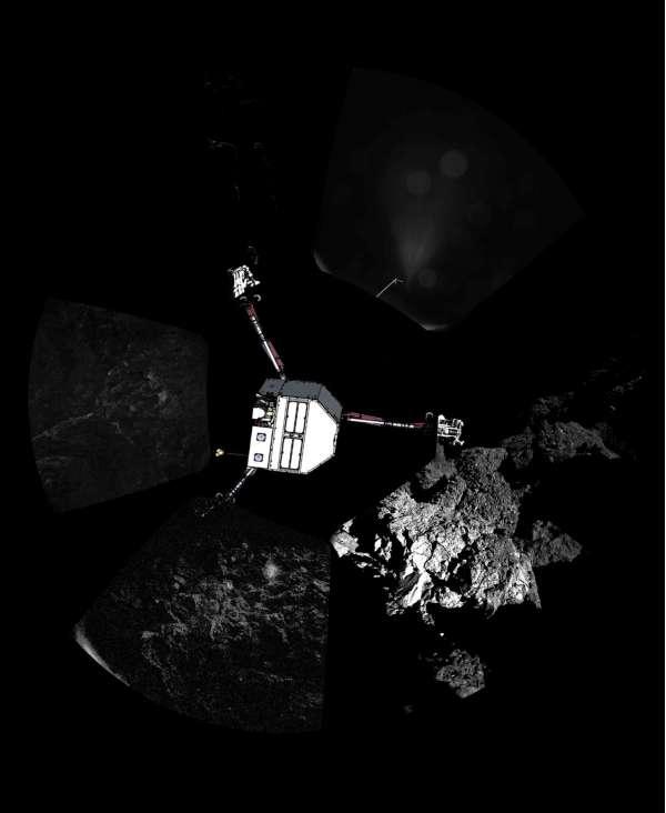 Philae - primo panorama