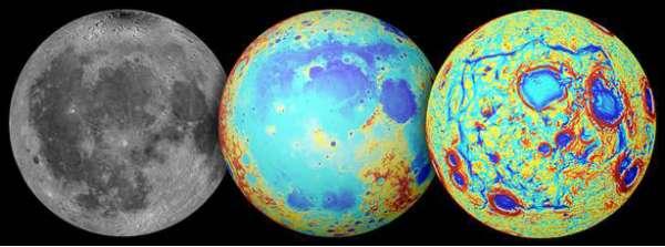 Luna: mappe della regione Procellarum
