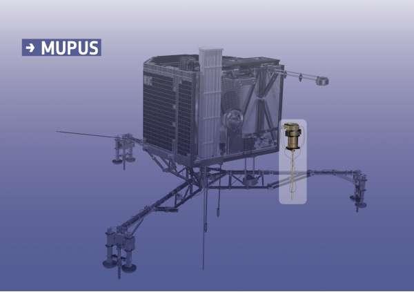 Philae MUPUS - Credits: ESA/ATG medialab
