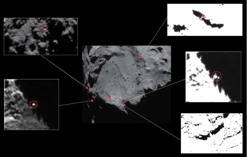 Philae - siti candidati