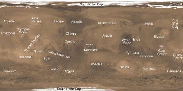 MRO MARCI mappa