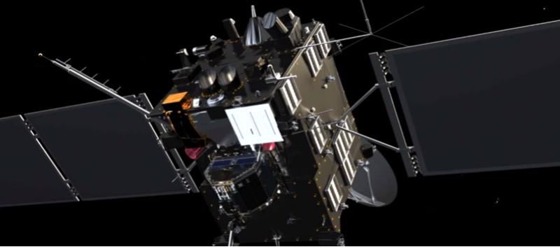 Rosetta: star tracker