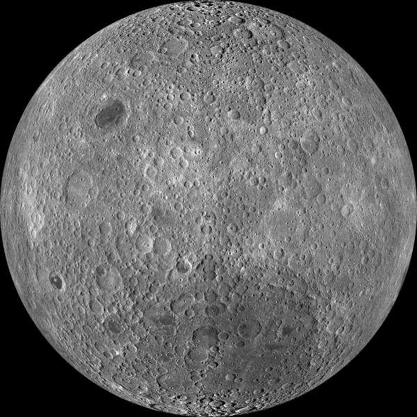 Luna: mappa del lato lontano