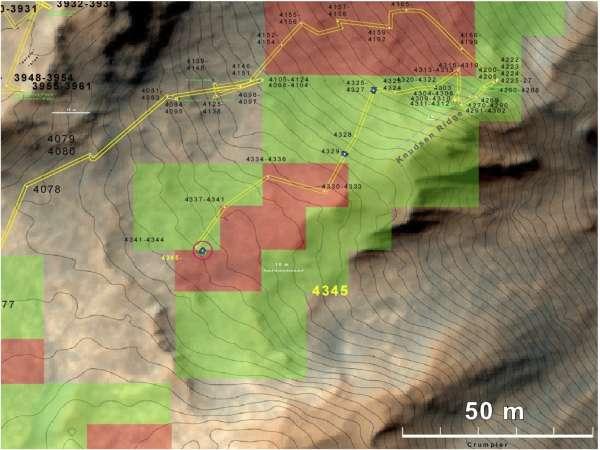 Localizzazione dei minerali argillosi