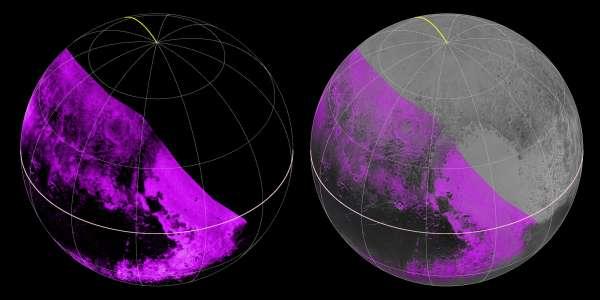 Plutone - mappa metano