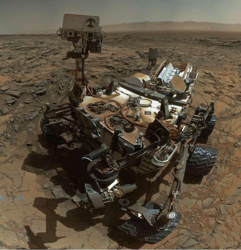Nuovo #selfie da Curiosity - sol 1126
