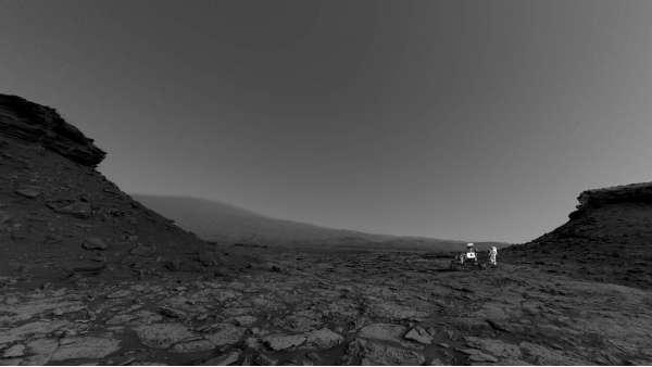 Curiosity sol 1448 NavCam