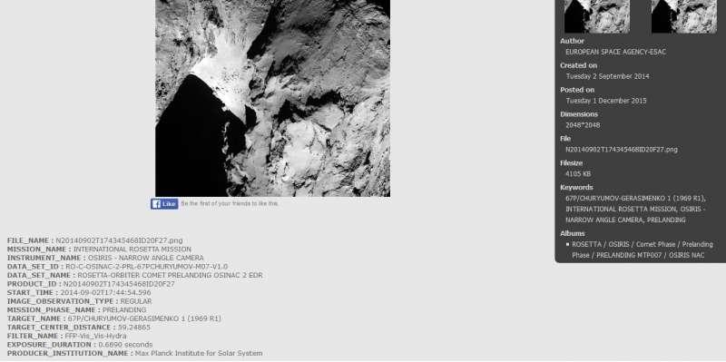 Archive Image Browsers OSIRIS - screenshot