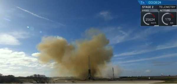 Falcon Heavy - atterraggio dei booster