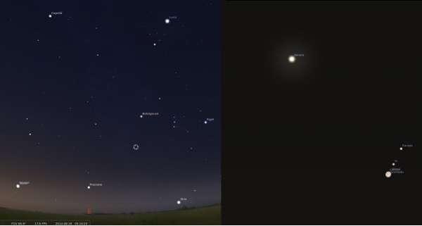 Congiunzione Stellarium