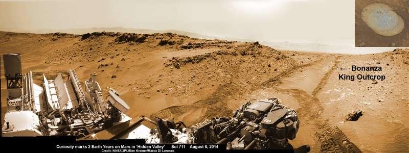 Curiosity Sol 711