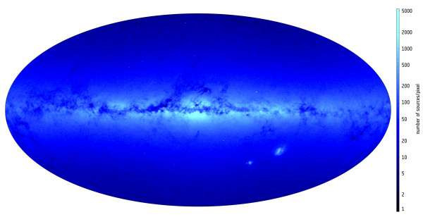 ESA Gaia Density Preview