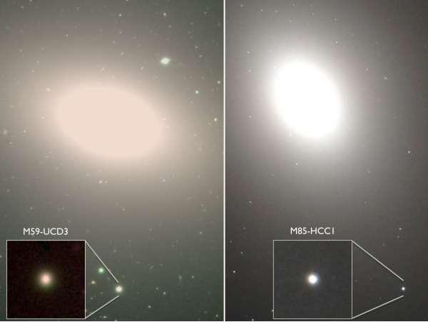 Glassie UCD M59-UCD3 e  M85-HCC1