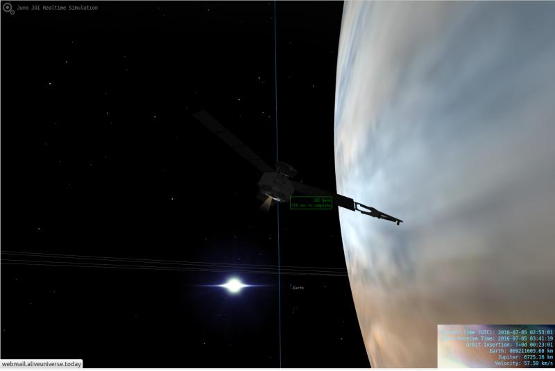 Juno simulazione