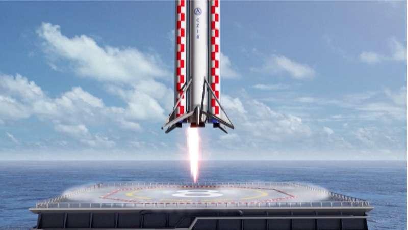 Long March: rientro stile Falcon 9