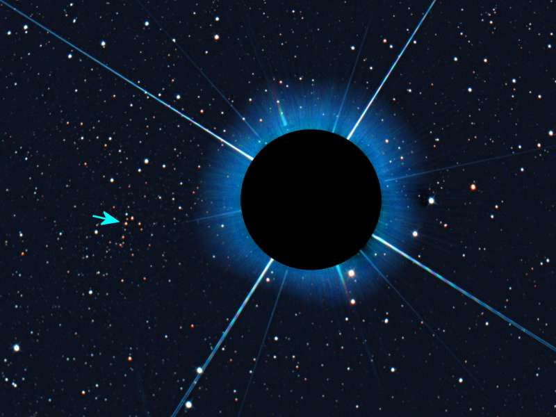 Obscured Sirius reveals Gaia 1 annoted