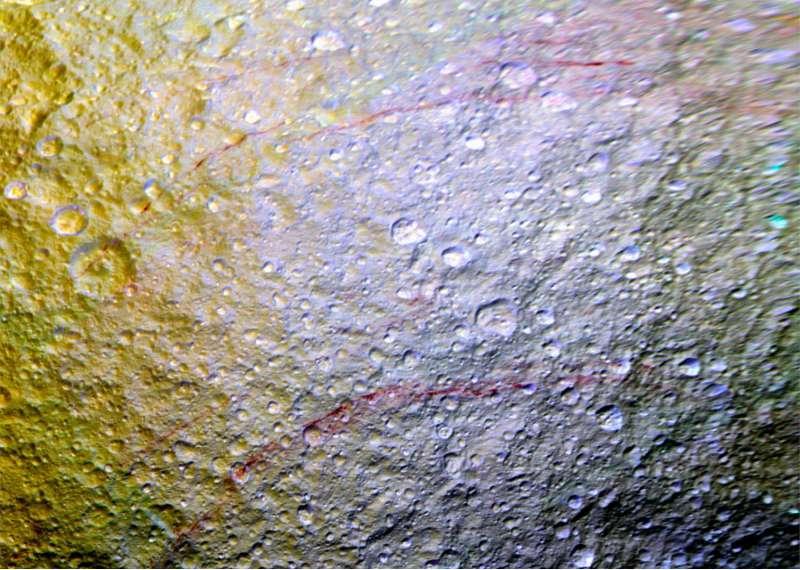 Archi rossi su Tethys