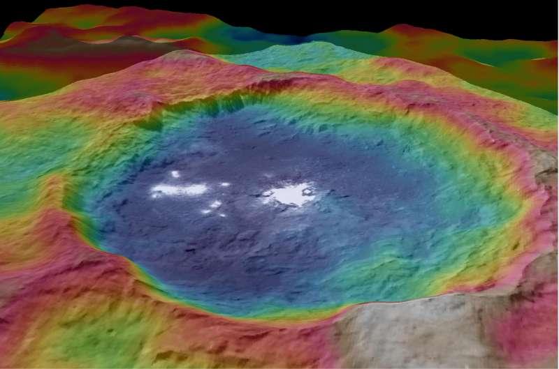 Cerere - cratere Occator