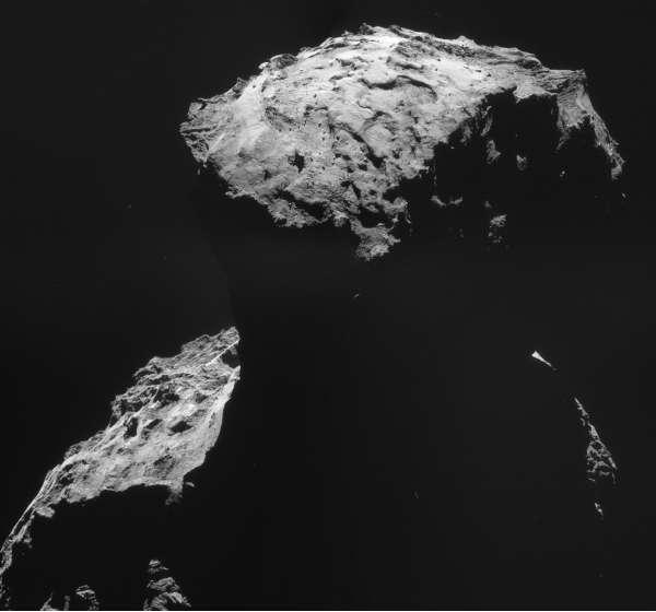 ESA Rosetta navCam 30 ottobre