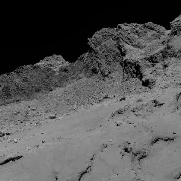 Rosetta: OSIRIS da 16 km