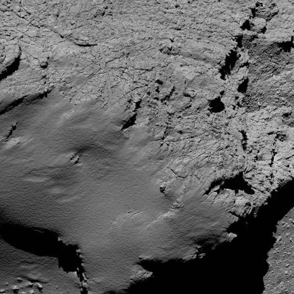 Rosetta: OSIRIS 8.9 km