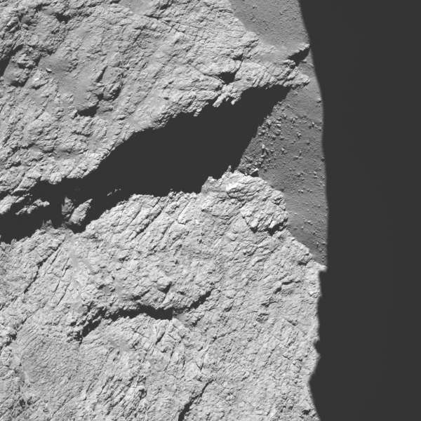 Rosetta: OSIRIS 11.7km
