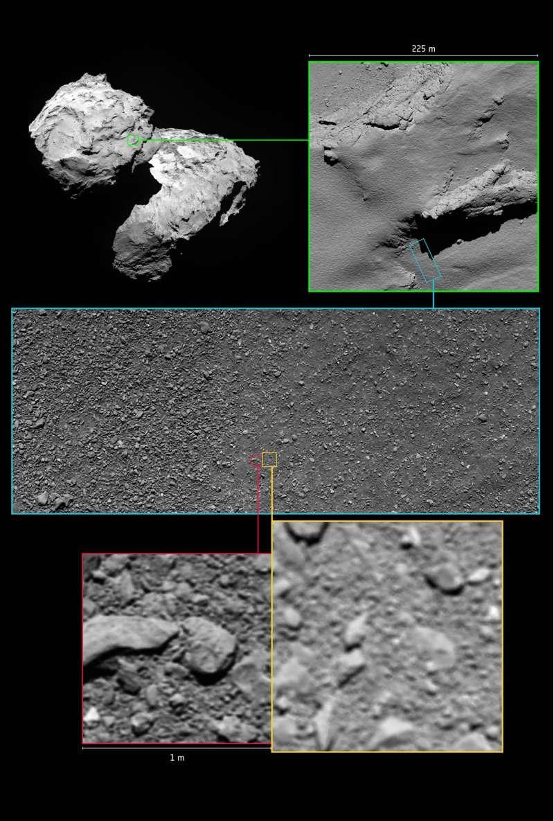 Le ultime immagini di Rosetta