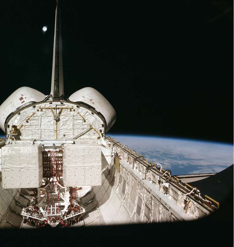 STS 1 Columbia Cargo Bay