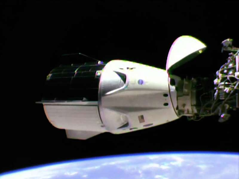 SpaceX Crew Dragon Demo 1 Successfully Docks to Station