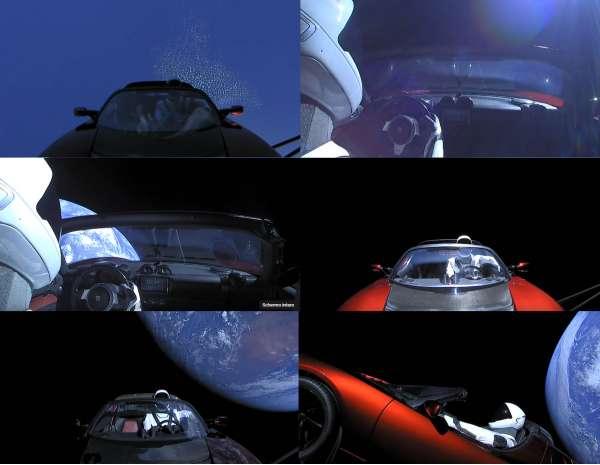 Le riprese di Starman - Falcon Heavy