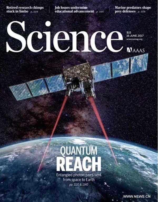 Successo del satellite Micius