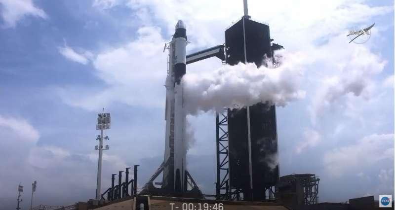 LaunchAmerica 20 minuti e 20 secondi al lancio