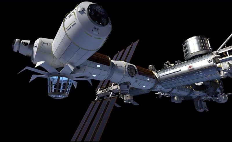 axiom spacestation digital image 2021