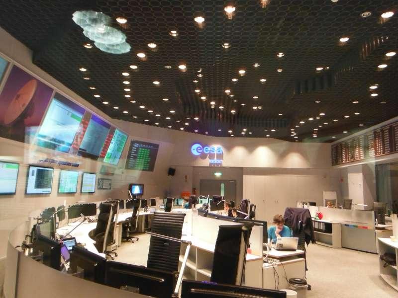 ESOC sala operativa