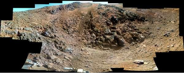 Opportunity: mosaico alla Marathon Valley sol 4267 - 4294