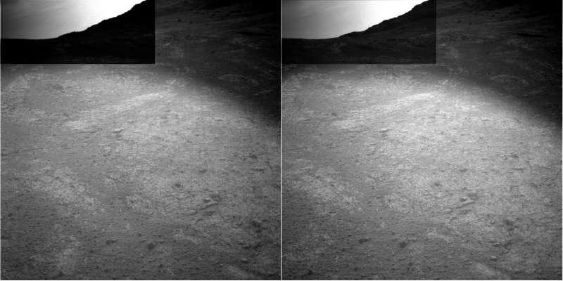 Opportunity NavCam left e right sol 4320