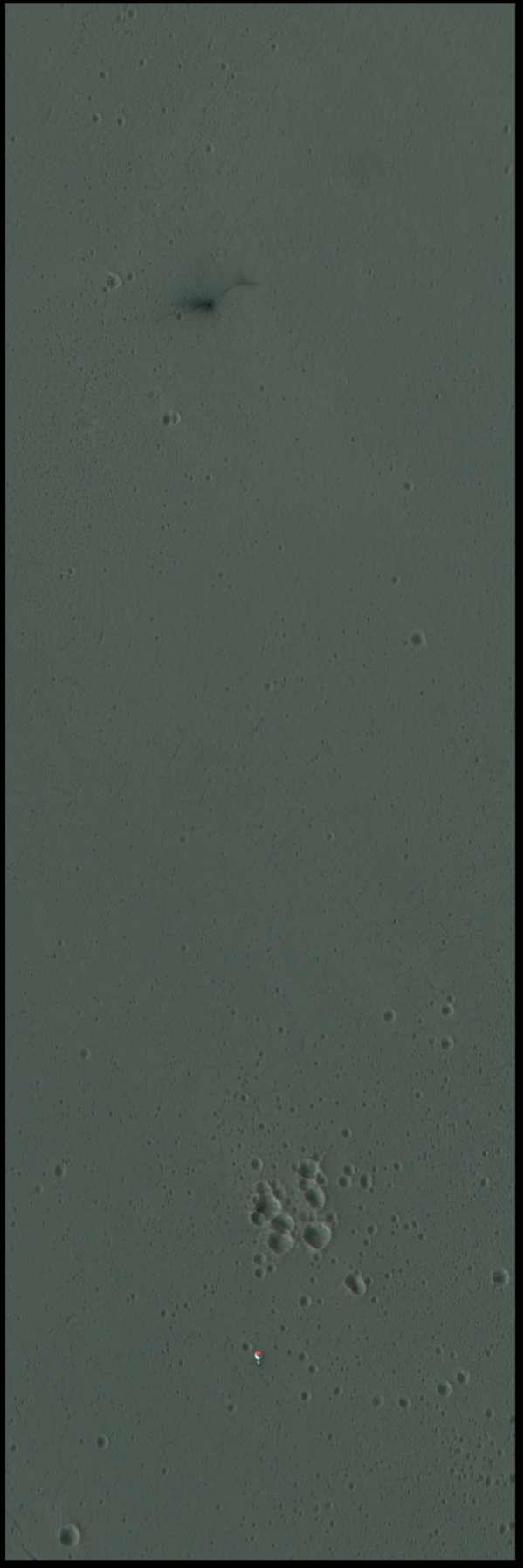 ExoMars Schiaparelli - ESP_048041_1780 ESP_048120_1780 anaglifo