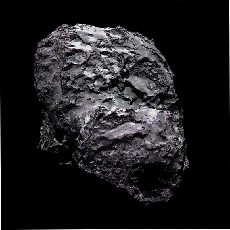 67P/Churyumov-Gerasimenko 6 agosto 2014 (OSIRIS)