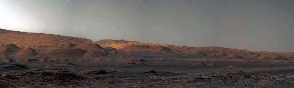 Curiosity sol 1100