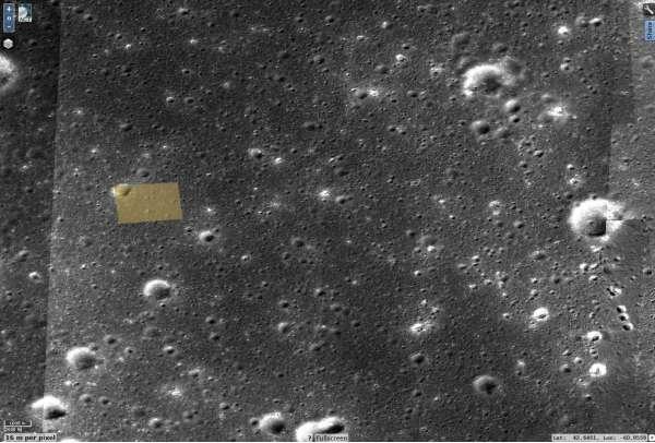 Immagine ripresa da Chang'e 5-T1