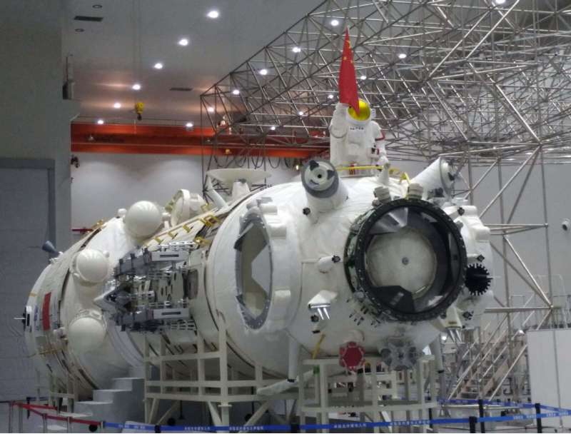 china space station core module