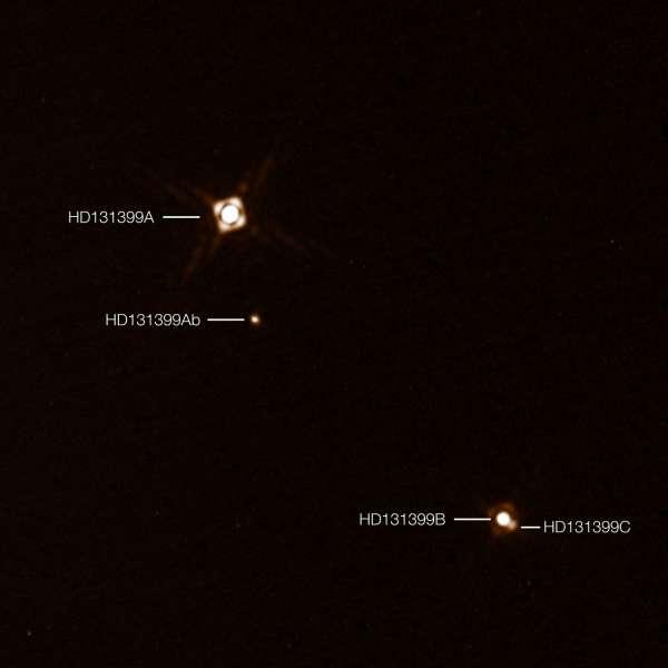 Pianeta extrasolare HD 131399Ab