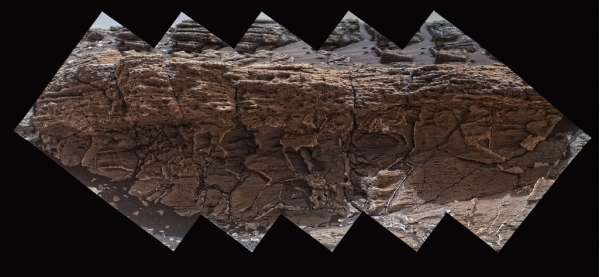 Curiosity MAHLI sol 1031