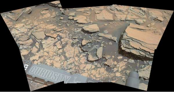 Curiosity MastCam left sol 997
