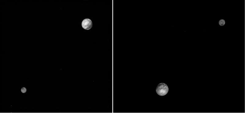 Pluto and Charon LORRI 2015-07-09