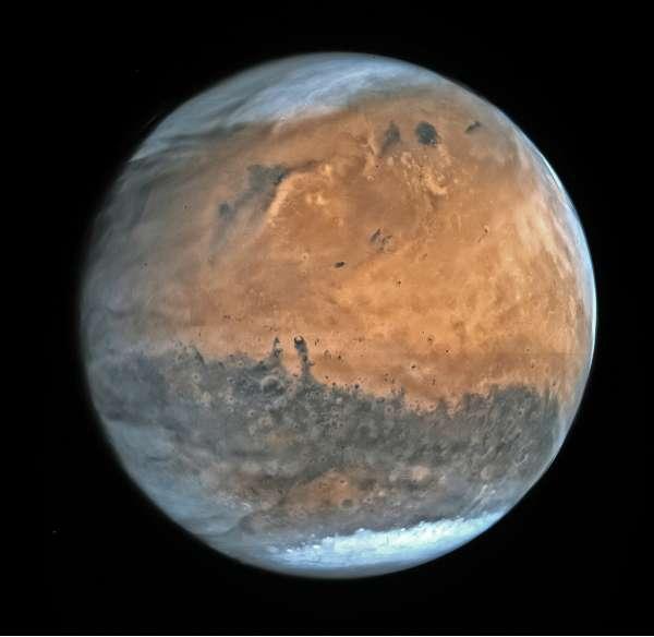 Mars by ESA Rosetta - OSIRIS NAC - February 2007