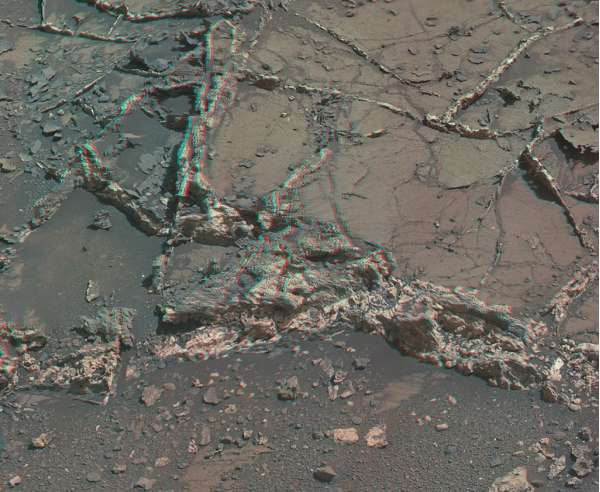 Curiosity Mastcam right sol 926 anaglyph