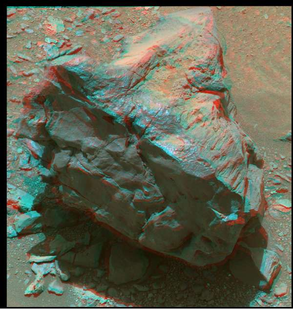 Curiosity Mastcam right sol 940 Kanosh anaglyph